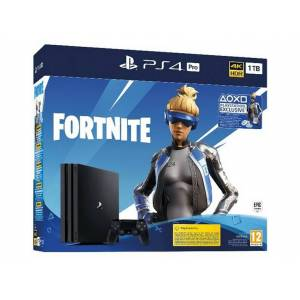 Sony - Consola - PS4 Pro 1 TB + Voucher Fortnite
