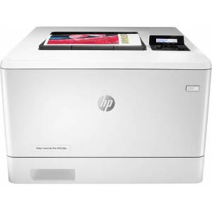 HP Impresora láser - HP  Color LaserJet Pro M454dn, 600 x 600 ppp, Wifi, 27 ppm, Doble cara, Blanco