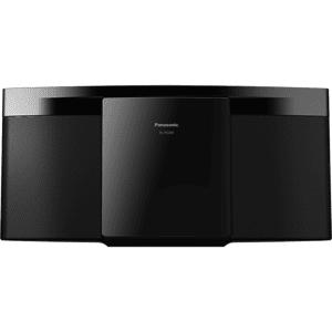 Panasonic Microcadena - Panasonic SC-HC200, 2 canales, 20 W, Bluetooth, Lector CD, USB, Negro