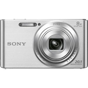 Sony Cámara - Sony Cyber-shot DSC-W830B Negro, 20Mp, Zoom 8x, HD, Plata