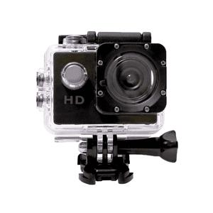 """SK8 Cámara deportiva - SK8 HD 1080 P, Full HD, 12 MP, LCD 2"""", Negro"""