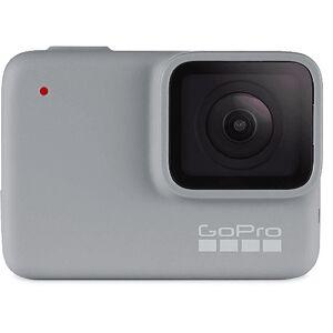 GOPRO Cámara deportiva - GoPro HERO7 White, Vídeo Full HD, 10MP, Wi-Fi, Bluetooth, Gris claro
