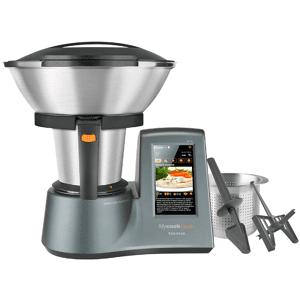 Taurus Robot de cocina - Taurus 923.080.000 Mycook Touch, WiFi, Pantalla táctil, Función Sofrito y Balanza, Gris