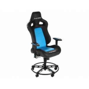 PLAYSEAT Silla gaming - Playseat L33T, 3D, Acolchado, Regulable, Reposabrazos ajustable, Azul