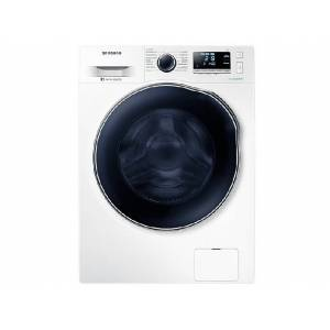 Samsung Lavadora secadora - Samsung WD90J6A10AW/EC, Display LED,  9kg/5kg, A, Blanco