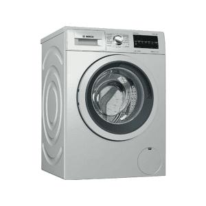 Bosch Lavadora carga frontal - Bosch WAT2449XES, 8 kg, Pantalla digital, 1200 rpm, Clase A+++, Inox