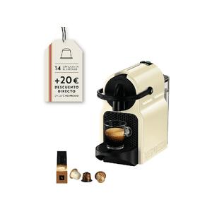 DE LONGHI Cafetera de cápsulas - Nespresso® De Longhi INISSIA EN80CW Presión de 19 bares, Potencia 1260W, Crema