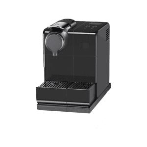 DE LONGHI Cafetera de cápsulas - Nespresso® De Longhi EN560.B Lattissima Touch, 19 bares, Depósito 0.9 L, Negro