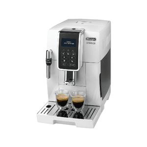 DE LONGHI Cafetera superautomática - De Longhi Dinamica ECAM350.35.W, LCD Display, Blanco