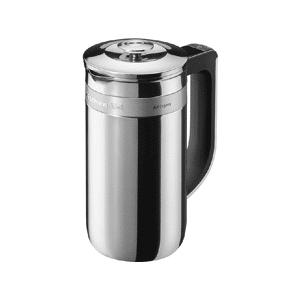 KitchenAid - Tetera perforadora - Acero, Inoxidable, LCD, Doble pared, De embolo