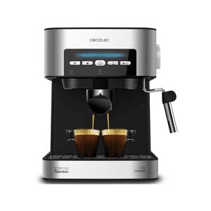 CECOTEC Cafetera express - Cecotec Power Espresso 20 Matic, 20 bares, para Espresso y Cappuccino, Modo Auto