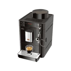 Melitta Cafetera superautomática Melitta® Passione, Auto Capuchinador, Molinillo integrado, Best Aroma System, Negro