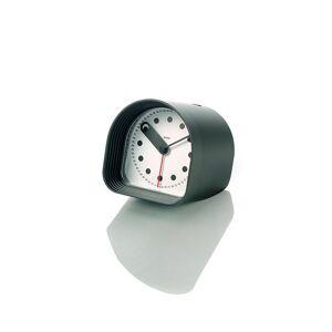 Alessi Reloj-Despertador de Mesa – Optic Negro