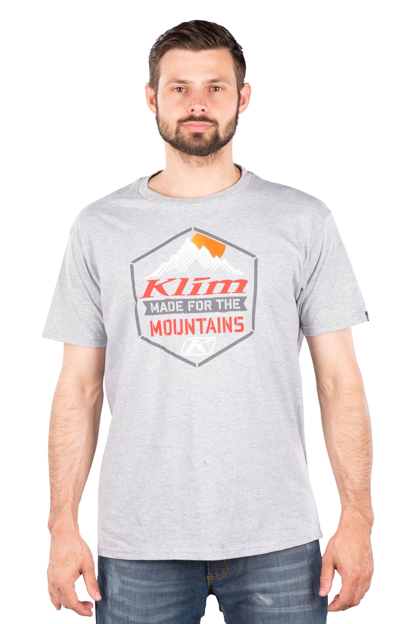 KLIM Camiseta  Mountain Made Gris