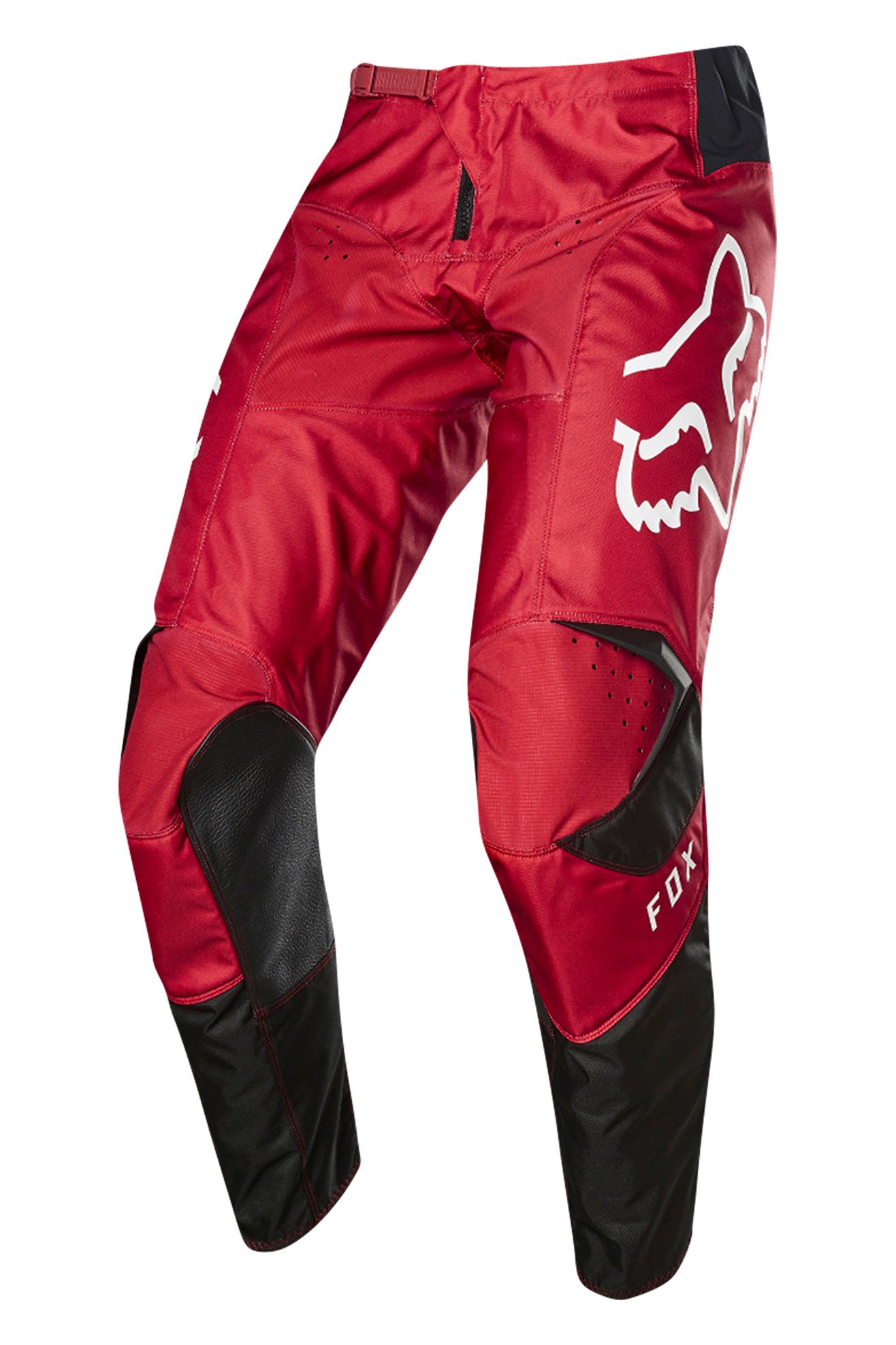 FOX Pantalones de Cross  180 Prix Niño Rojo Fuego