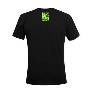 VR46 Camiseta  16 Negra