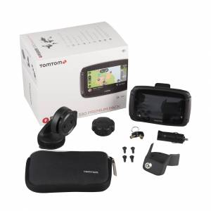 TomTom Pack Premium GPS  Rider 550 WORLD 4,''