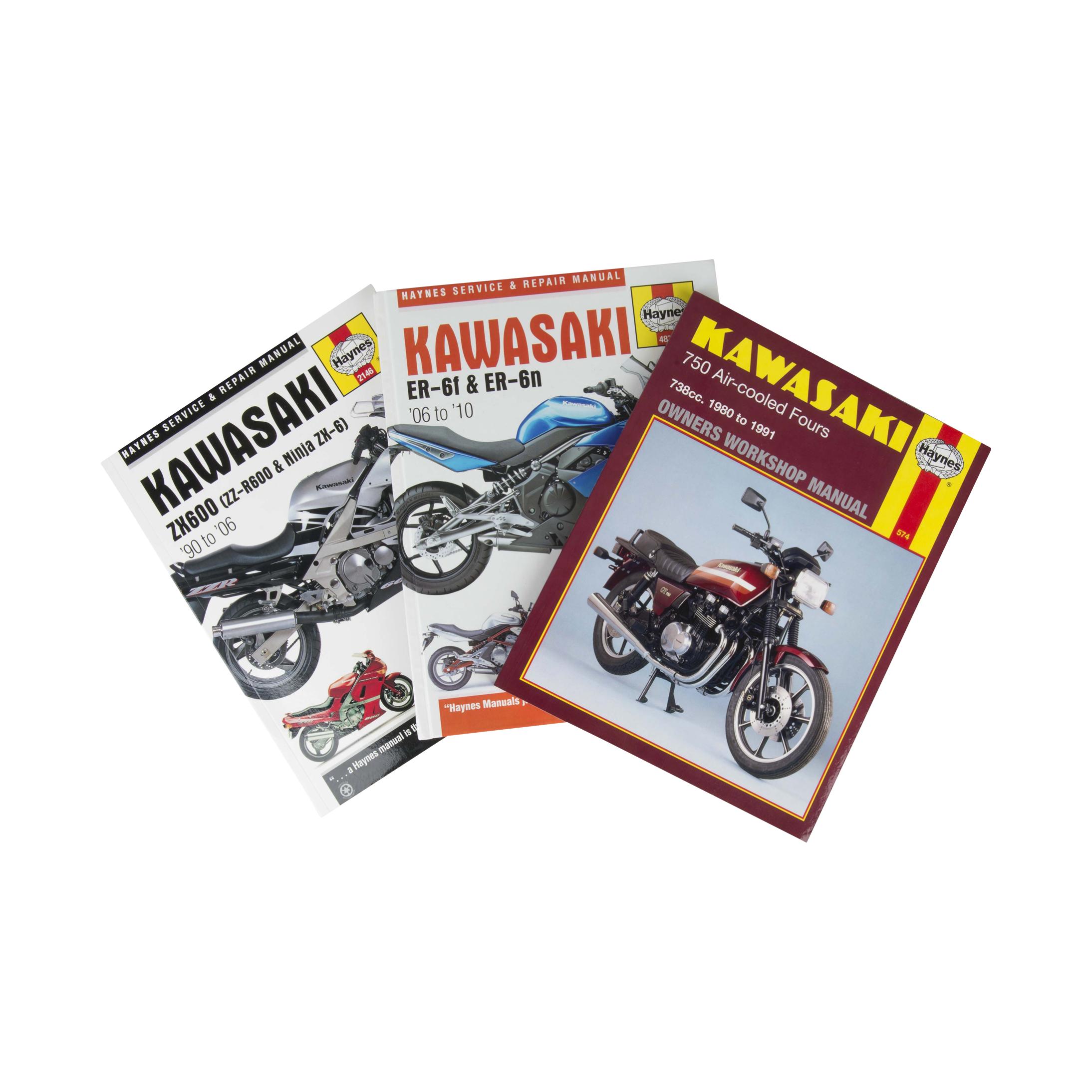 Haynes Manual de Reparación  para Kawasaki (buscar por modelo)