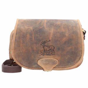 Greenburry Vintage Hunting Bag Bolso bandolera piel 30 cm brown