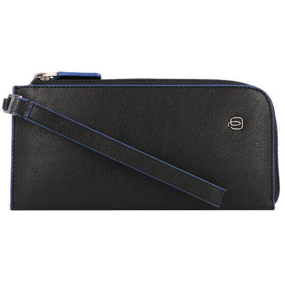 Piquadro Bolsa para el teléfono móvil RFID piel 19 cm black