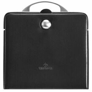 Windrose Merino Charmbox Caja para joyas joyero 21 cm negro