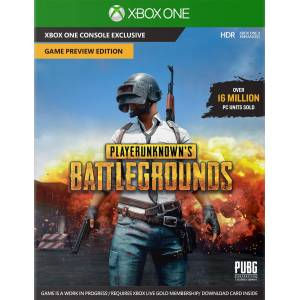 Microsoft PLAYERUNKNOWN'S BATTLEGROUNDS – Game Preview Edition para Xbox One