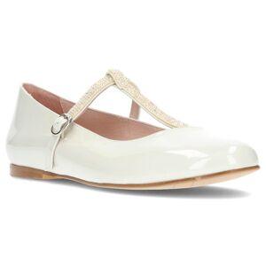 Oca Loca Shoes OCA LOCA BAILARINA CHAROL  BEIGE