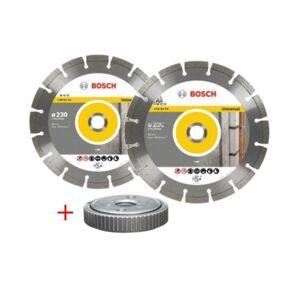 Bosch Disco Corte General Obra Segment 230Mm Tue.Amol Diam Bosch 2 Pz