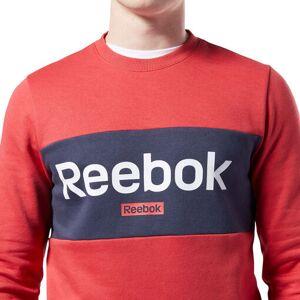 Reebok Sudadera TE Big Logo Crew Hombre Sudaderas y Hoodies L