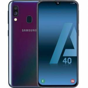 Samsung Galaxy A40 64 Gb   Negro Libre