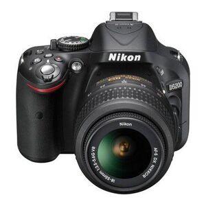 Nikon Cámara Reflex Nikon D5200 Negro + Objetivo 18-55 mm