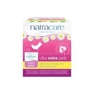 Natracare Compresa Súper Con Alas Ultra Extra 10 unidades - Natracare