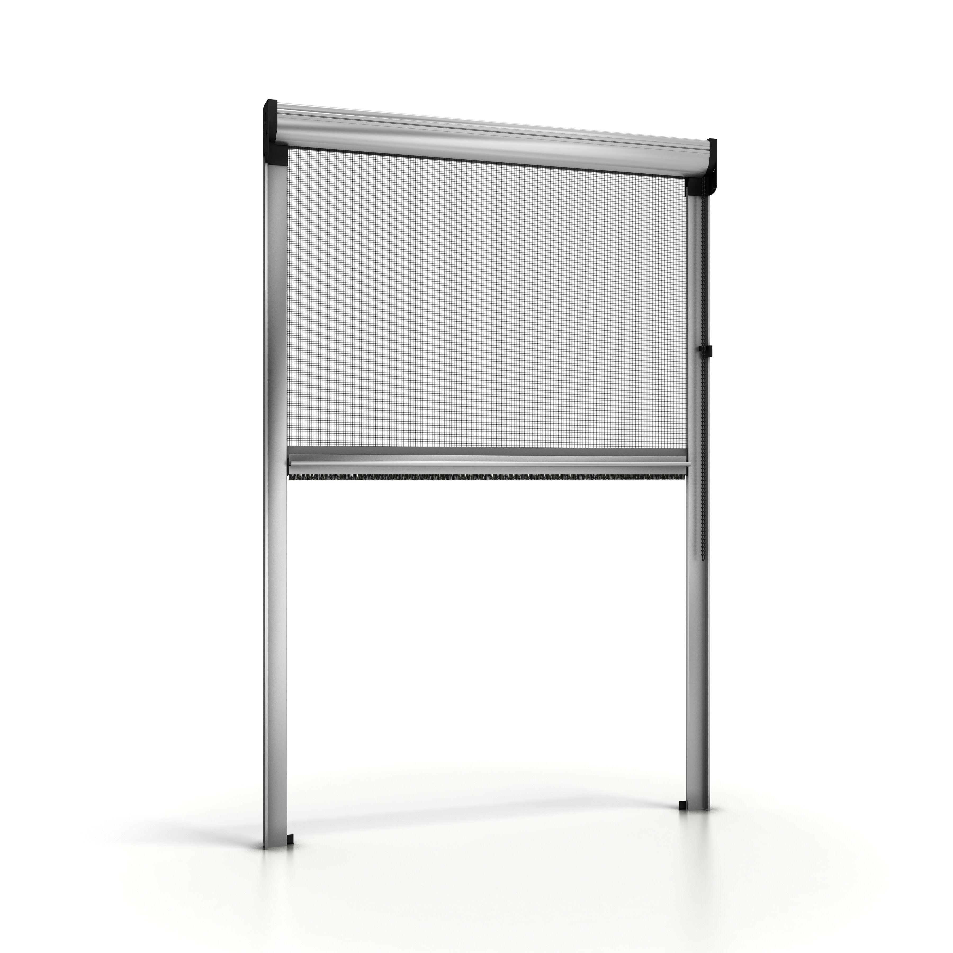 NoFlyStore Mosquitera enrollable para ventana NoFlyStore SILVER.02