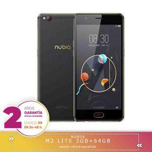 nubia -Plaza Garantía- Nubia M2 Lite 5.5 pulgada 3GB RAM 64GB ROM MTK6750 Ocho Núcleos 1.5GHz 4G