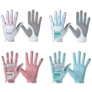 null Guantes de Golf para mujer diseño antideslizante mano izquierda y derecha gránulos de microfibra de
