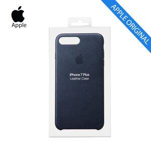 Apple Funda protectora Iphone 6s-7-8 de piel azul -MMYG2- carcasa móvil original de Apple con Garantía.