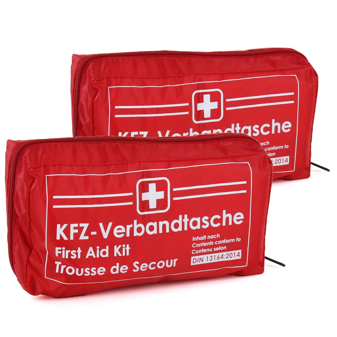 Holthaus Medical Kit de primeros auxilios para coche 62220