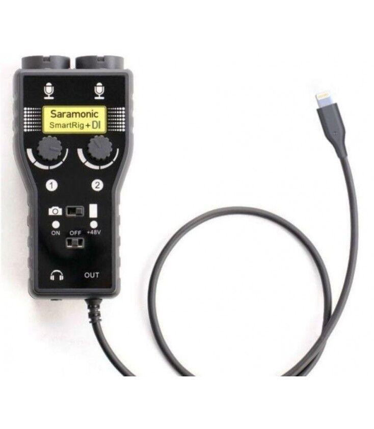Saramonic Adaptador Smartrig+ Di De Microfono/guitarra