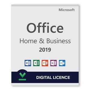 Microsoft Office 2019 Home and Business - Licencia digital - Software para descargar
