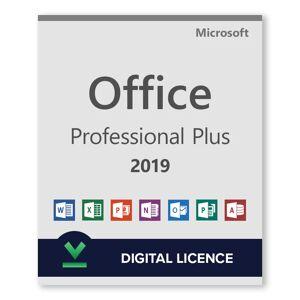 Microsoft Office 2019 Professional Plus - Licencia digital - Software para descargar