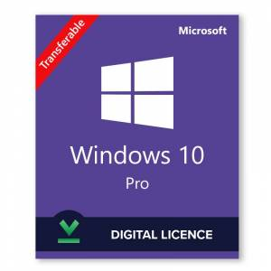 Microsoft Windows 10 Professional Retail - Licencia digital - Software para descargar