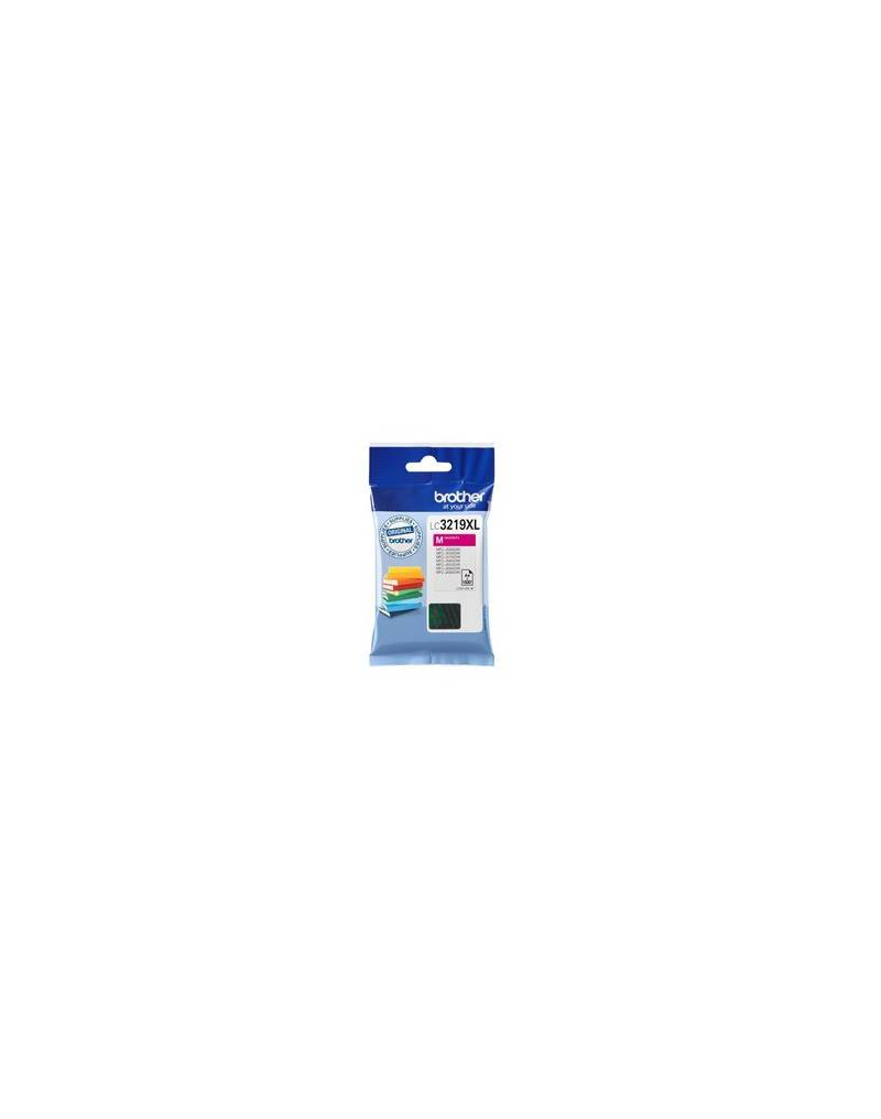Brother Cartucho tinta brother lc3219xlm magenta 1500