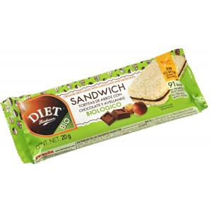 DIET RADISSON Sandwich  Arroz Cacao Avellanas 60gr