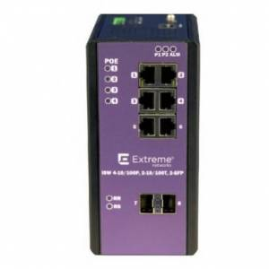 Extreme networks 16801 switch Gestionado L2 Fast Ethernet (10/100) Negro, Lila Energía sobre Ethernet (PoE)