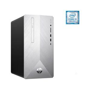 HP PC Sobremesa HP Pavilion 595-P0040NS Plata (Caja Abierta - Intel Core i3-8100 - 8 GB - 1 TB HDD - Intel UHD Graphics 630)