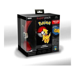 POWER A Power Bank + Auriculares FOR ALL Super Pack Pokémon (Caja Abierta)