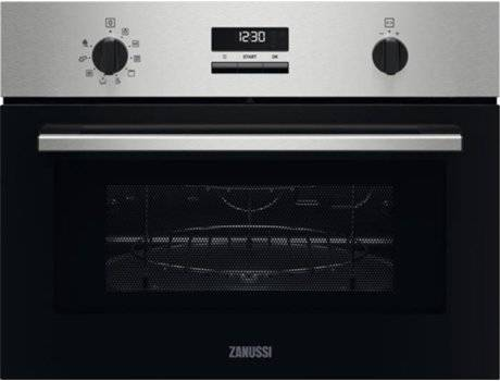 Zanussi Horno Microondas ZANUSSI ZVEEW5X1 (42 L - 59.5 cm - Inox)