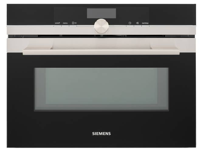Siemens Horno Microondas SIEMENS Cookcontrol CM676G (45 L - 59.4 cm - Pirolítico - Inox)