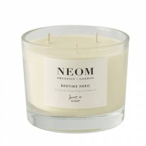 NEOM Bedtime Hero Scented Candle 3 Wick  50h