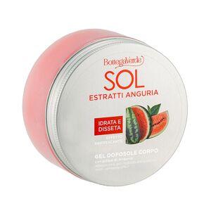 Bottega Verde SOL Estratti Anguria - Gel corporal aftersun - hidrata y apaga la piel - con pulpa de Sandía (150 ml) - efecto refrescante